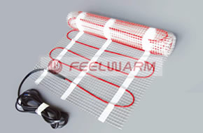 110W/㎡ FeelWarm Ultra Thin Underfloor Heating Mat System1